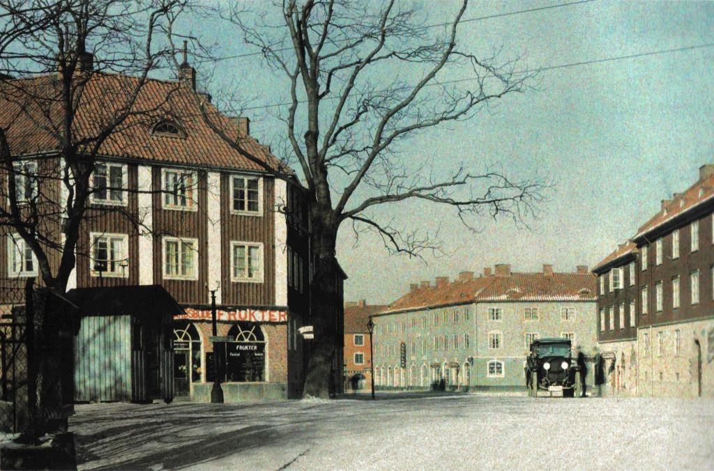 Stockholmsgatan 1926. Foto: Gustaf Wernersson Cronquist. Fotot förekommer i Robert Garellicks bok - Bilden av Göteborg.